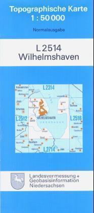 Wilhelmshaven 1 : 50 000 als Buch