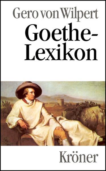 Goethe-Lexikon als Buch