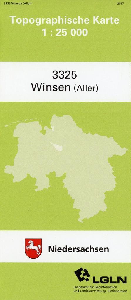 Winsen (Aller) 1 : 25 000. (TK 3325/N) als Buch