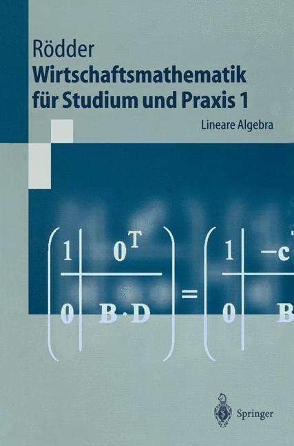 Wirtschaftsmathematik für Studium und Praxis 1 als Buch