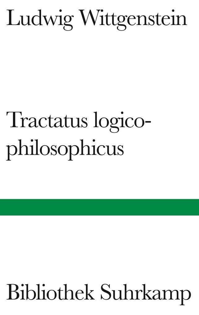 Tractatus logico-philosophicus als Buch
