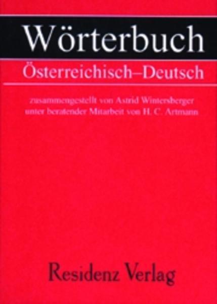 Wörterbuch Österreichisch - Deutsch als Buch