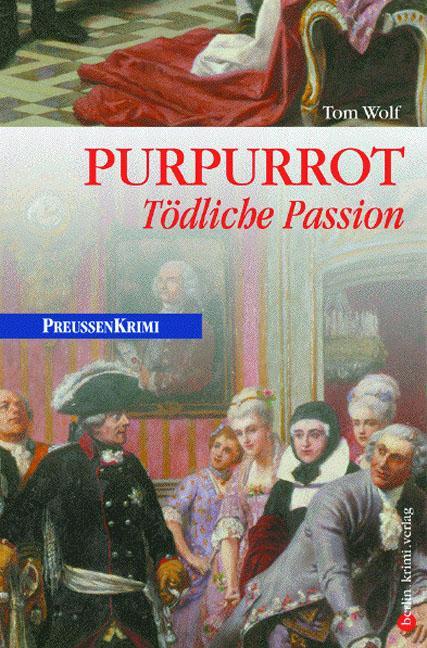 Purpurrot als Buch