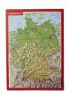Reliefpostkarte Deutschland
