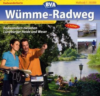 Wümme - Radweg 1 : 50 000. Radwanderkarte als Buch