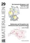 Der deutsche Kongress- u. Tagungsmarkt/Städtenetze als Perspektive der interkommunalen Zusammenarbeit