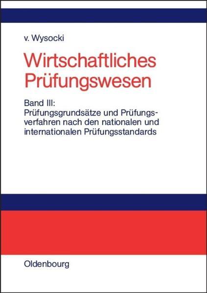 Wirtschaftliches Prüfungswesen 3 als Buch
