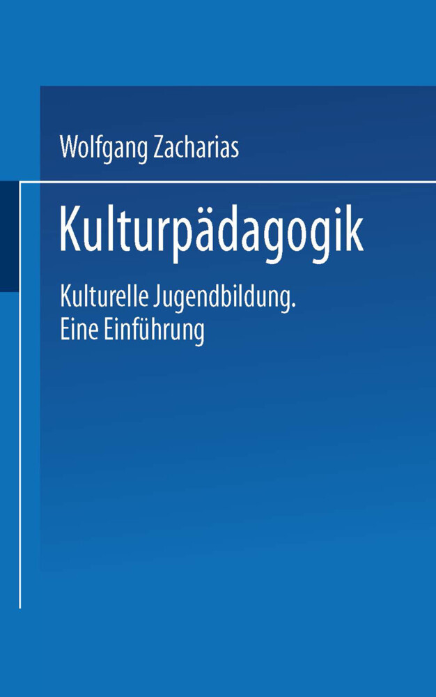 Kulturpädagogik als Buch