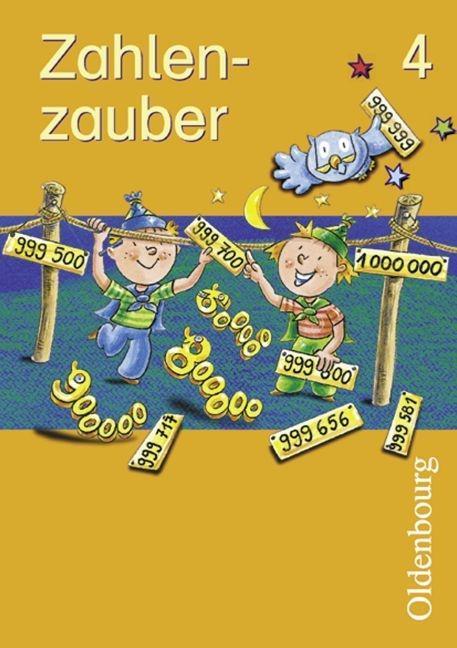 Zahlenzauber 4. Schülerbuch. Bayern. Euro als Buch