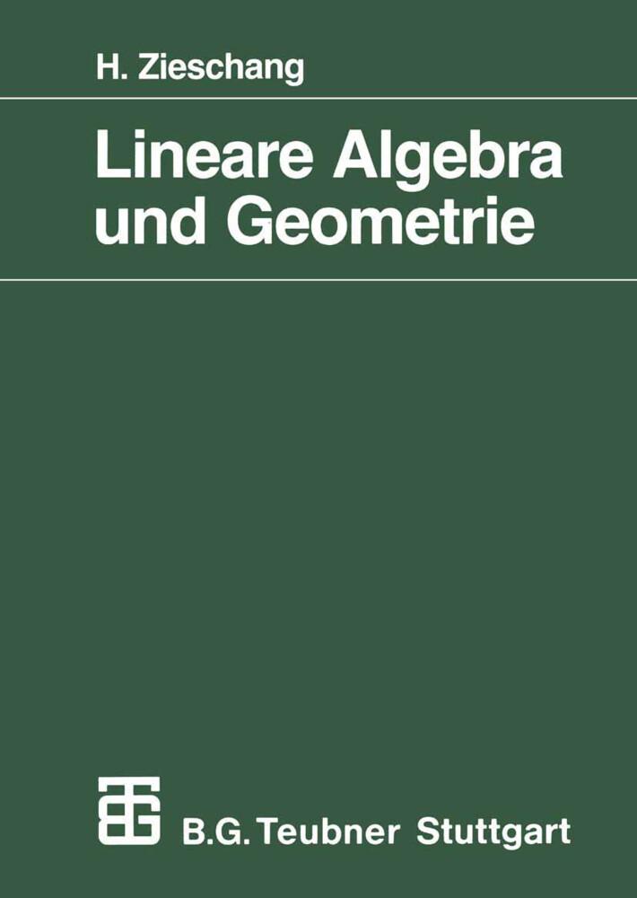 Lineare Algebra und Geometrie als Buch
