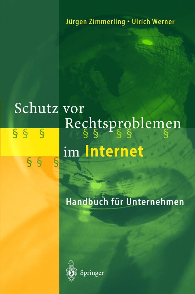 Schutz vor Rechtsproblemen im Internet als Buch