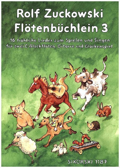 Flötenbüchlein 3 als Buch
