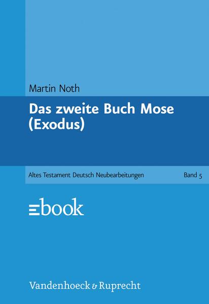 Das zweite Buch Mose als Buch