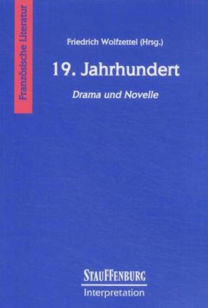 19. Jahrhundert. Drama und Novelle als Buch