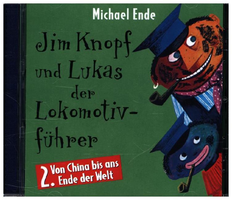 Jim Knopf und Lukas der Lokomotivführer 2. CD als Hörbuch