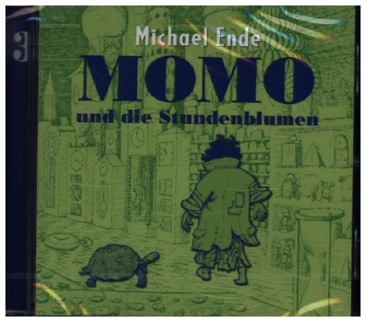 Momo 3 und die Stundenblumen. CD als Hörbuch