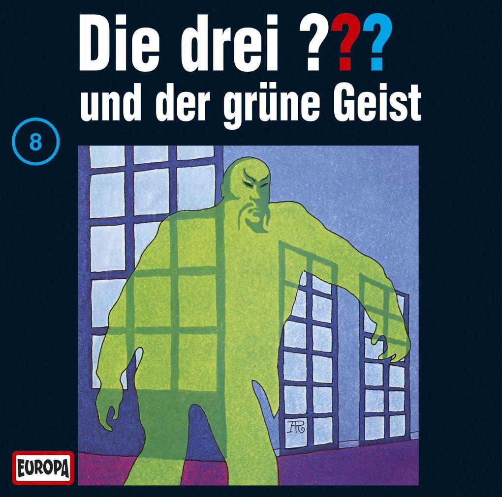 Die drei ??? 008 und der grüne Geist (drei Fragezeichen) CD als Hörbuch