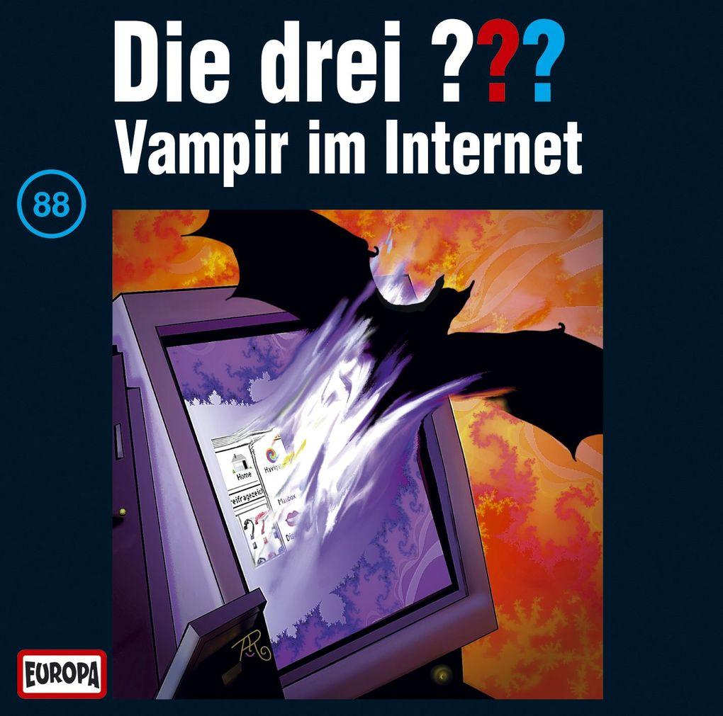 Die drei ??? 088. Vampir im Internet (drei Fragezeichen) CD als Hörbuch
