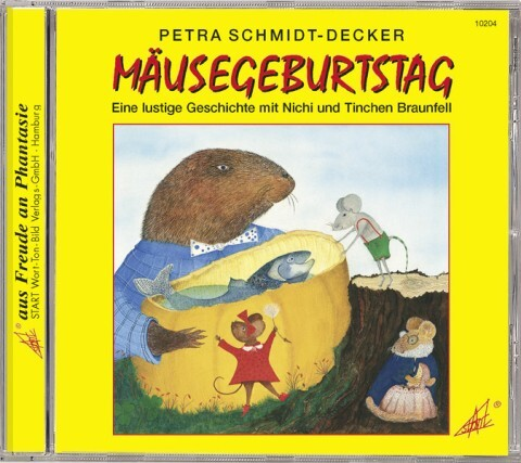 Mäusegeburtstag. CD als Hörbuch