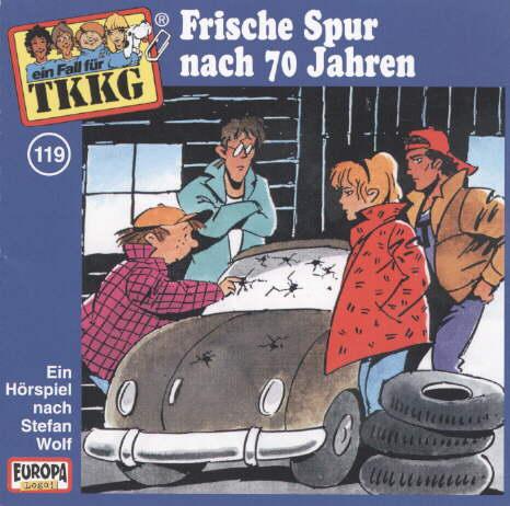 TKKG 119. Frische Spur nach 70 Jahren. CD als Hörbuch