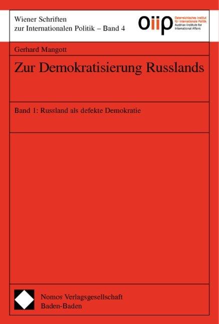 Zur Demokratisierung Russlands 1 als Buch