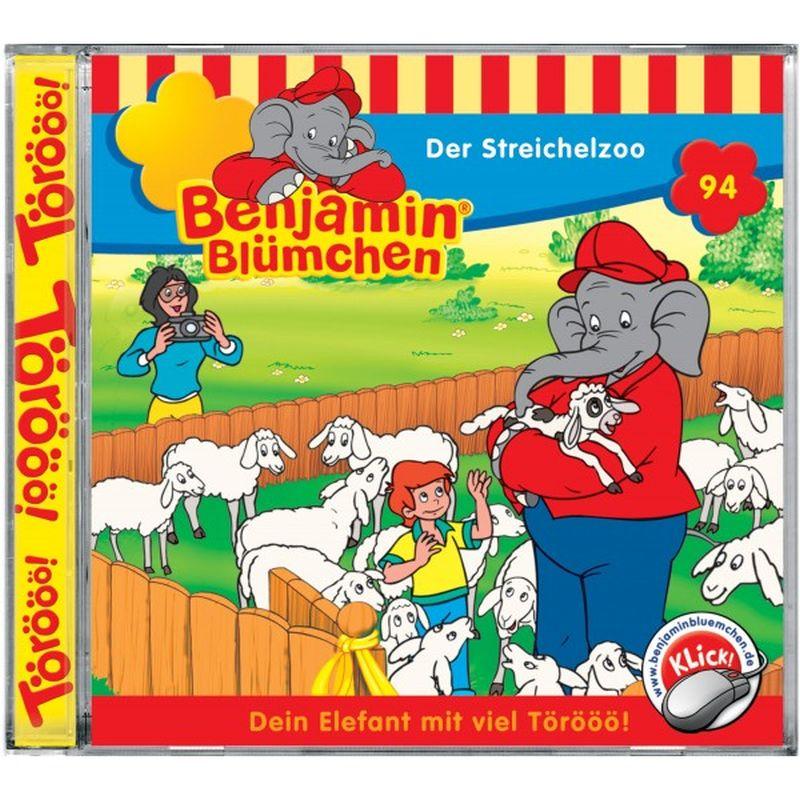 Benjamin Blümchen 094. Der Streichelzoo. CD als Hörbuch