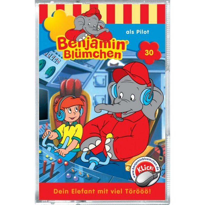 Benjamin Blümchen 030. ... als Pilot. Cassette als Hörbuch