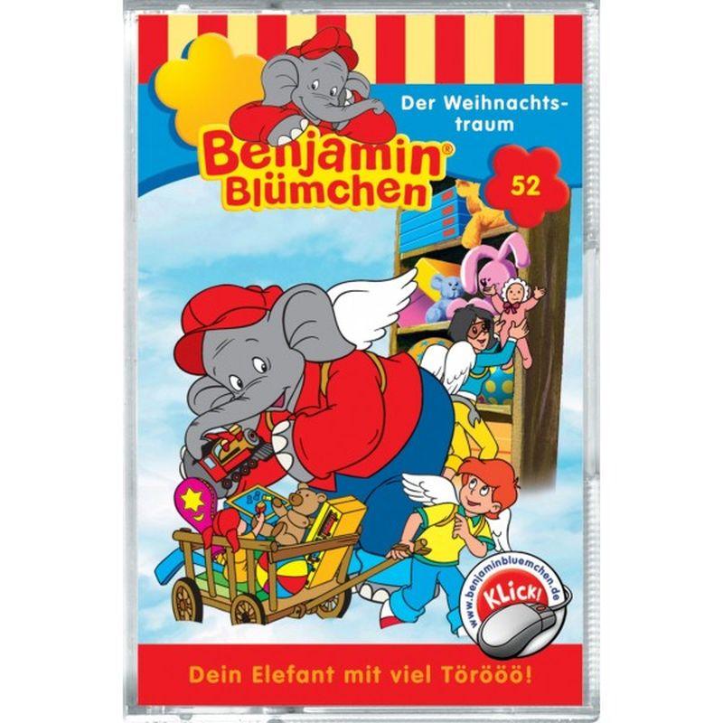 Benjamin Blümchen 052. Der Weihnachtstraum. Cassette als Hörbuch