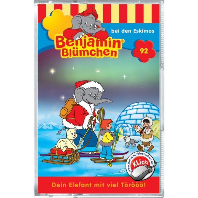 Benjamin Blümchen 092. ... bei den Eskimos. Cassette als Hörbuch