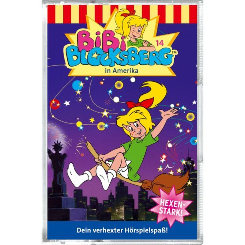 Bibi Blocksberg 014. in Amerika. Cassette als Hörbuch