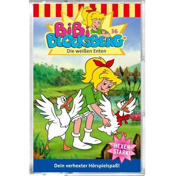 Bibi Blocksberg 036. Die weißen Enten. Cassette als Hörbuch