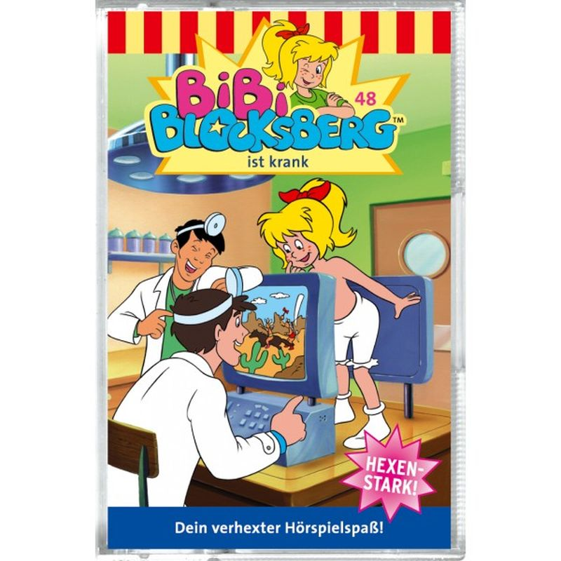 Bibi Blocksberg 048. ist krank. Cassette als Hörbuch