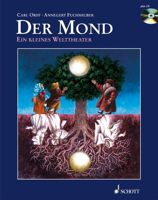 Der Mond. Mit CD als Buch