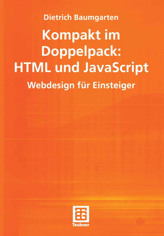 Kompakt im Doppelpack: HTML und JavaScript als Buch