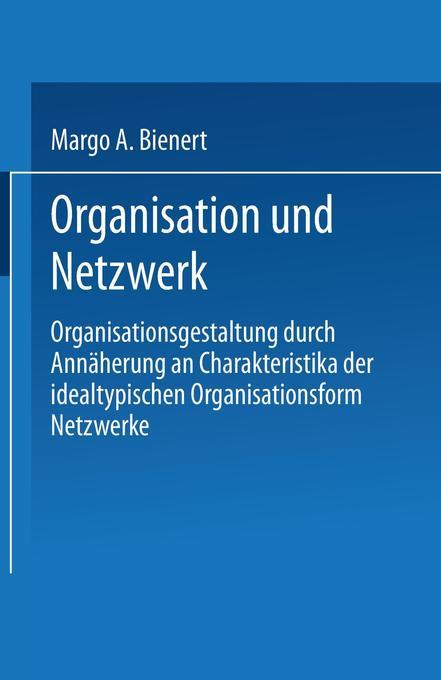 Organisation und Netzwerk als Buch