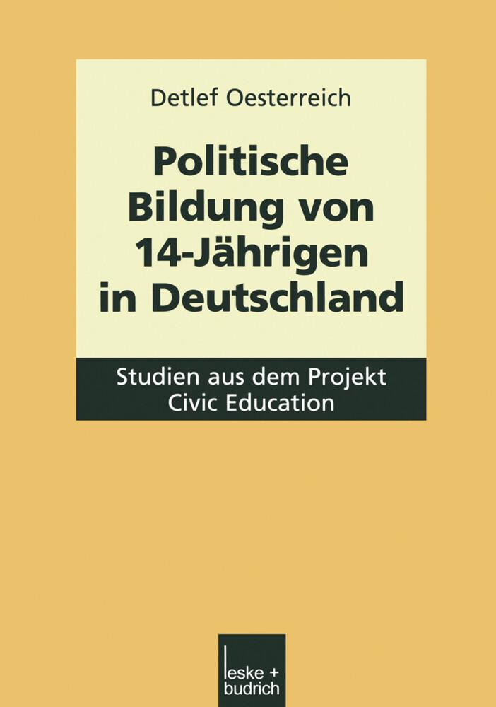 Politische Bildung von 14-Jährigen in Deutschland als Buch