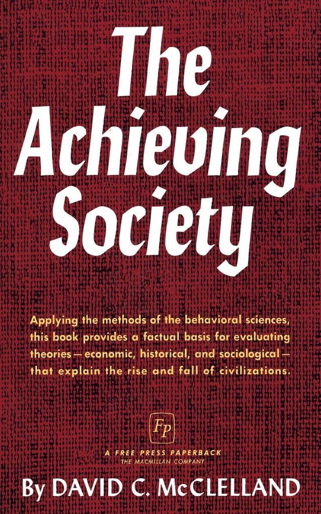 The Achieving Society als Taschenbuch