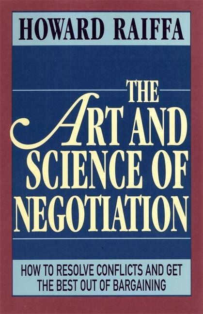 The Art and Science of Negotiation als Taschenbuch