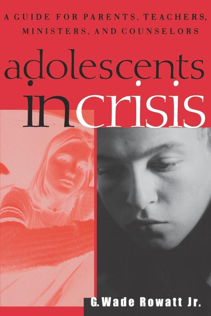 Adolescents in Crisis als Taschenbuch