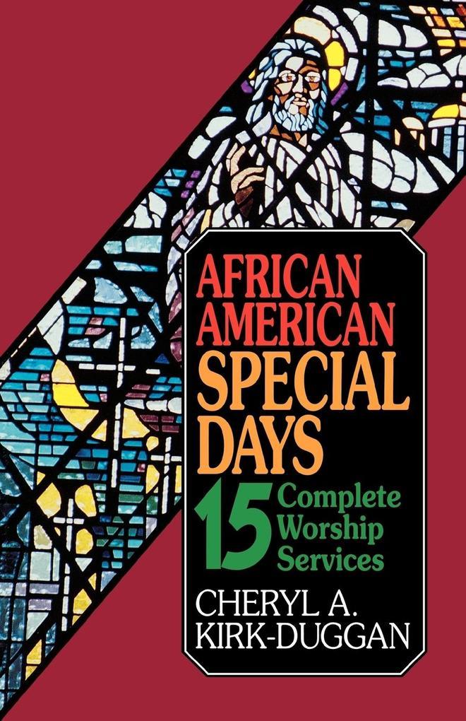 African American Special Days als Taschenbuch