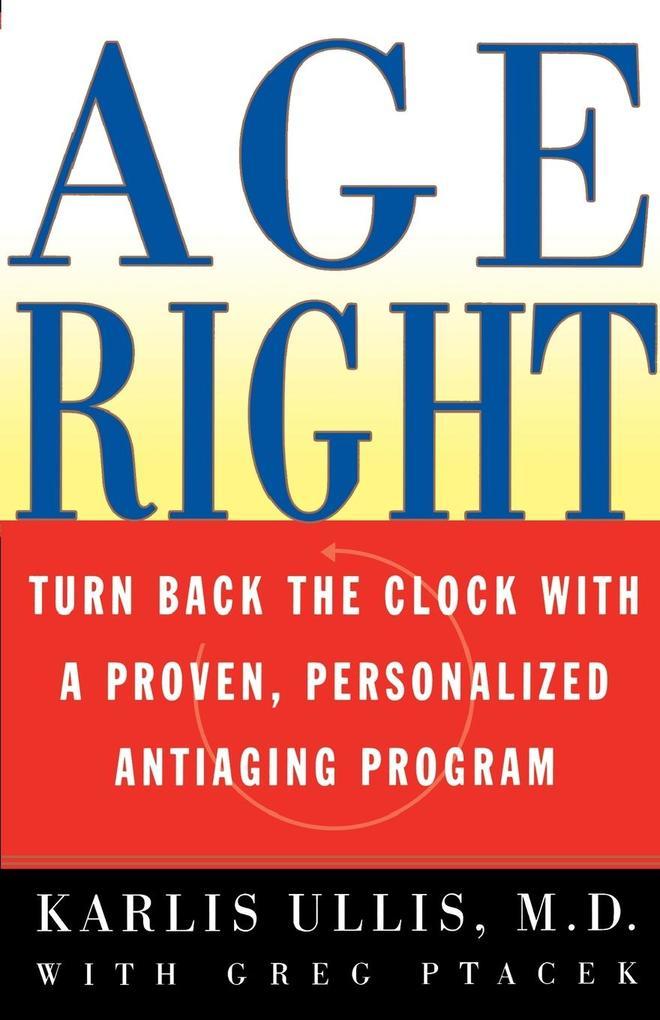 Age Right als Taschenbuch