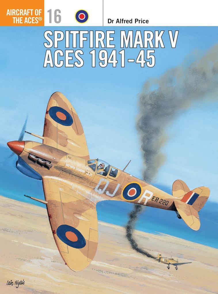 Spitfire Mark V Aces 1941-45 als Taschenbuch