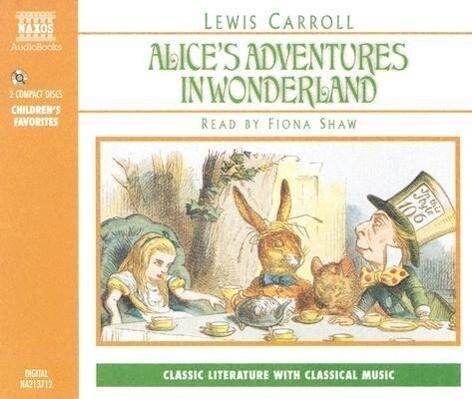 Alice in Wonderland als Hörbuch