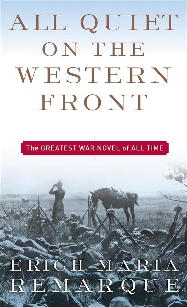 All Quiet on the Western Front als Taschenbuch