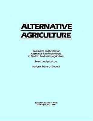 Alternative Agriculture als Taschenbuch