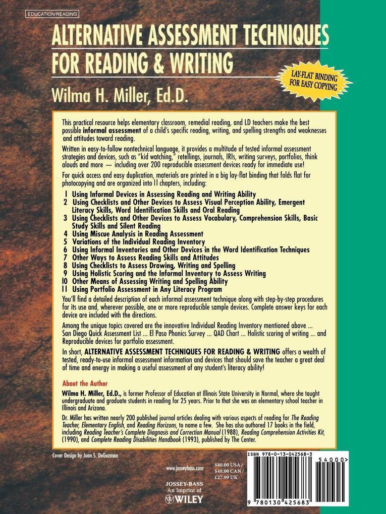Alternative Assessment Techniques for Reading & Writing als Taschenbuch