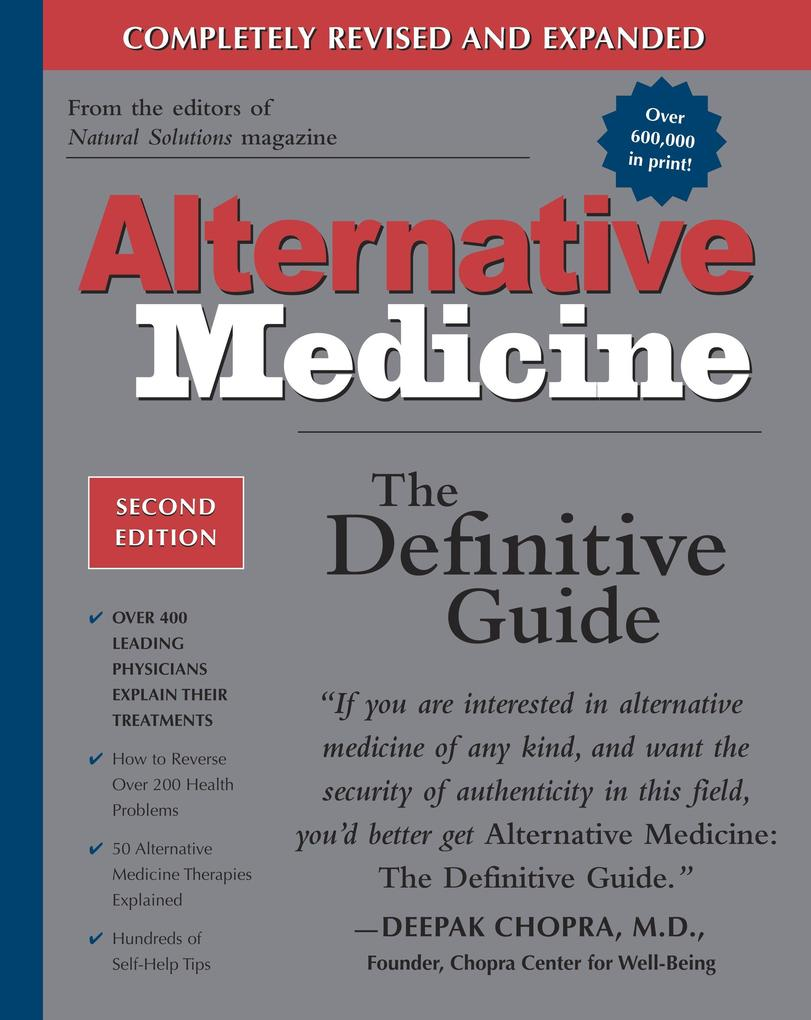 Alternative Medicine, Second Edition: The Definitive Guide als Taschenbuch