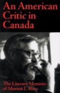 American Critic in Canada als Buch