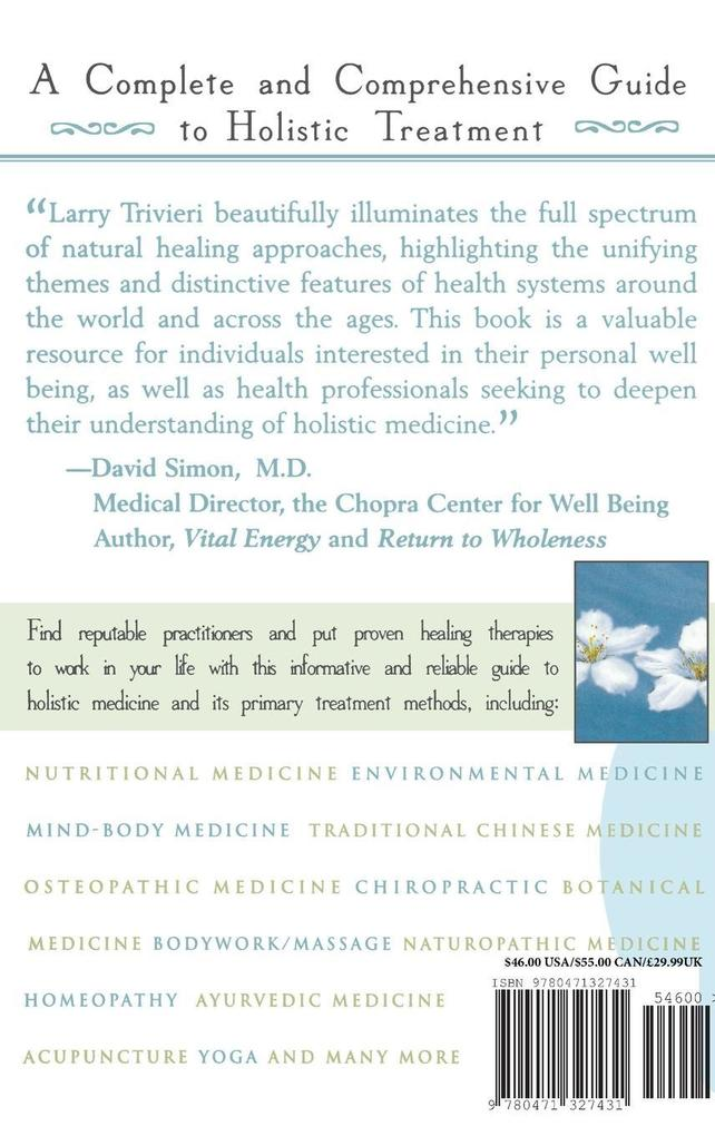 The American Holistic Medical Association Guide to Holistic Health: Healing Therapies for Optimal Wellness als Buch