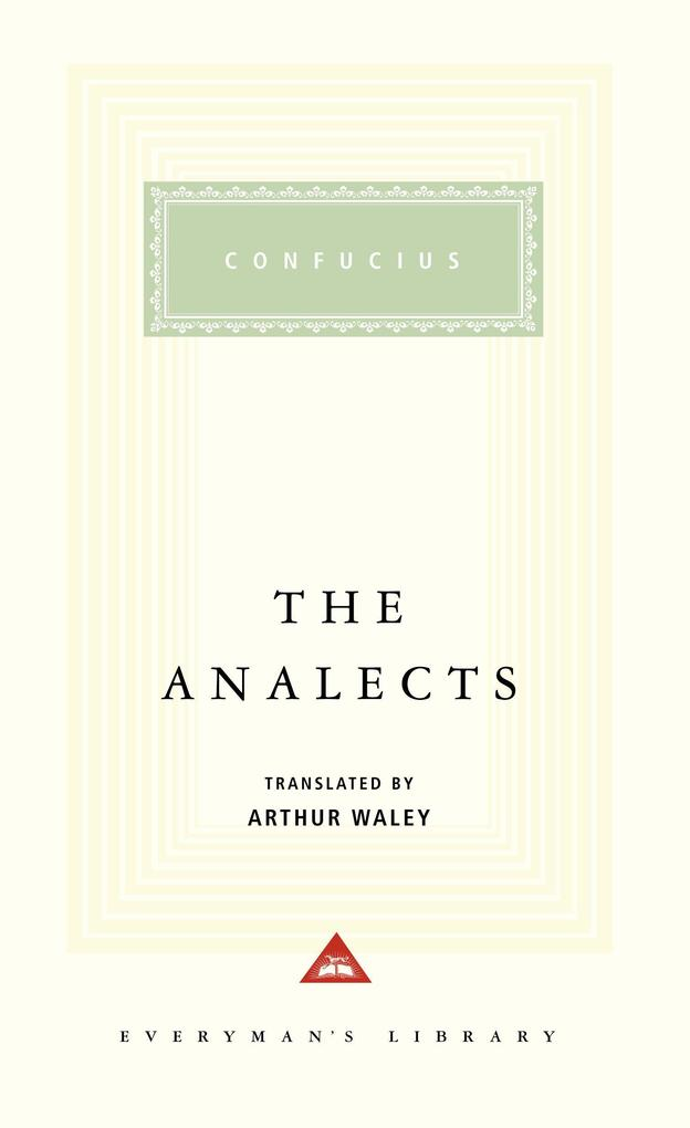 The Analects als Buch